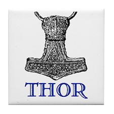 THOR (Hammer) Tile Coaster