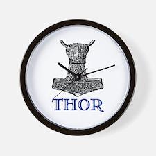 THOR (Hammer) Wall Clock