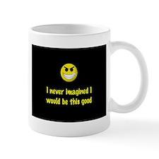 Self Esteem Mug (white w/black logo)