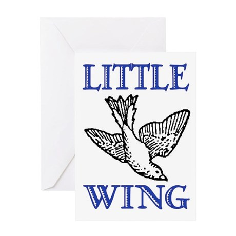 LITTLE WING Greeting Card