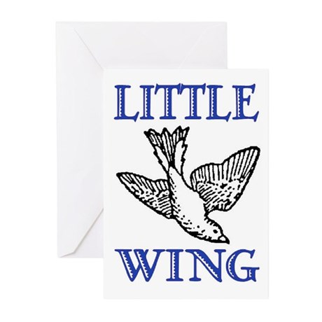 LITTLE WING Greeting Cards (Pk of 10)