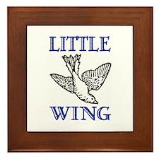 LITTLE WING Framed Tile