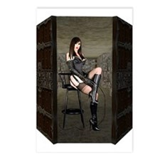 Dungeon Door Dominatrix Postcards (Package of 8)