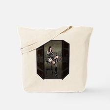 Dungeon Door Dominatrix Tote Bag