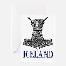 ICELAND (THOR'S HAMMER) Greeting Card