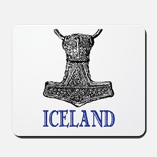 ICELAND (THOR'S HAMMER) Mousepad