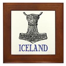 ICELAND (THOR'S HAMMER) Framed Tile