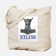 ICELAND (THOR'S HAMMER) Tote Bag