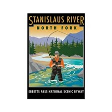 Stanislaus River - Rectangle Magnet