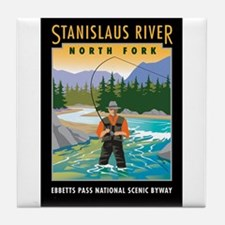 Stanislaus River - Tile Coaster