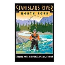 Stanislaus River - Postcards (Package of 8)