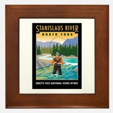 Stanislaus River - Framed Tile