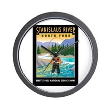 Stanislaus River - Wall Clock