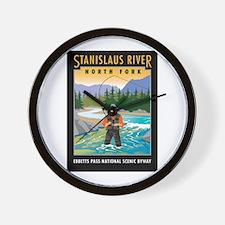 Stanislaus River - Wall Clock