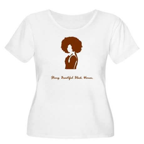 Afro Sista Too Women's Plus Size T-Shirt