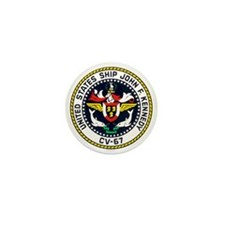USS John F. Kennedy CV-67 Mini Button (100 pack)