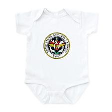 USS John F. Kennedy CV-67 Infant Bodysuit