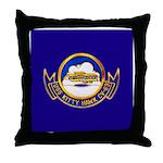 USS Kitty Hawk CV-63 Throw Pillow