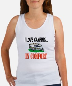I Love Camping In Comfort Women's Tank Top