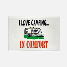 I Love Camping In Comfort Rectangle Magnet