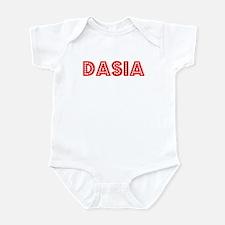 Retro Dasia (Red) Infant Bodysuit