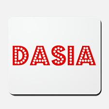 Retro Dasia (Red) Mousepad