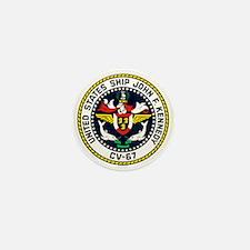USS John F. Kennedy CV-67 Mini Button (10 pack)