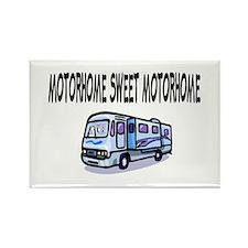 Motorhome Sweet Motorhome Rectangle Magnet
