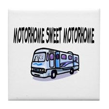 Motorhome Sweet Motorhome Tile Coaster