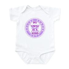 Purple Infant Bodysuit
