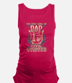 The Best Kind Of Dad Raise A Civil Engine Tank Top