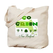 Go Green New Bedford Reusable Tote Bag