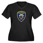 SF Institutional PD Women's Plus Size V-Neck Dark