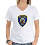 SF Institutional PD Women's V-Neck T-Shirt