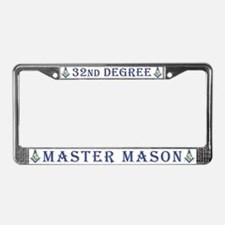 32nd Degree License Plate Frame
