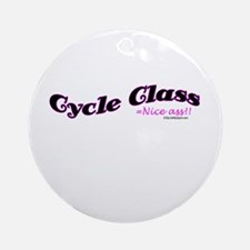 Cycle Class Ornament (Round)