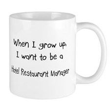 When I grow up I want to be a Hotel Restaurant Man
