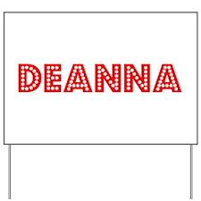 Retro Deanna (Red) Yard Sign