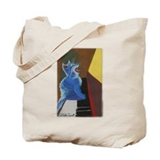'Jazz Cat' Tote Bag