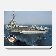 USS Kitty Hawk CV-63 Mousepad