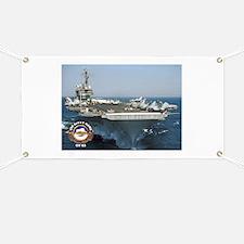 USS Kitty Hawk CV-63 Banner