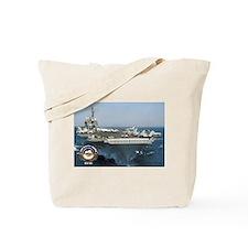 USS Kitty Hawk CV-63 Tote Bag
