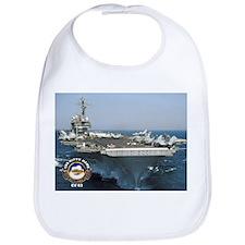 USS Kitty Hawk CV-63 Bib