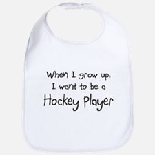 When I grow up I want to be a Hockey Player Bib
