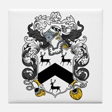 Rogers Family Crest Tile Coaster
