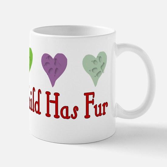 Furry Grandchild Mug