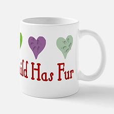 Furry Grandchild Small Small Mug