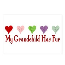 Furry Grandchild Postcards (Package of 8)
