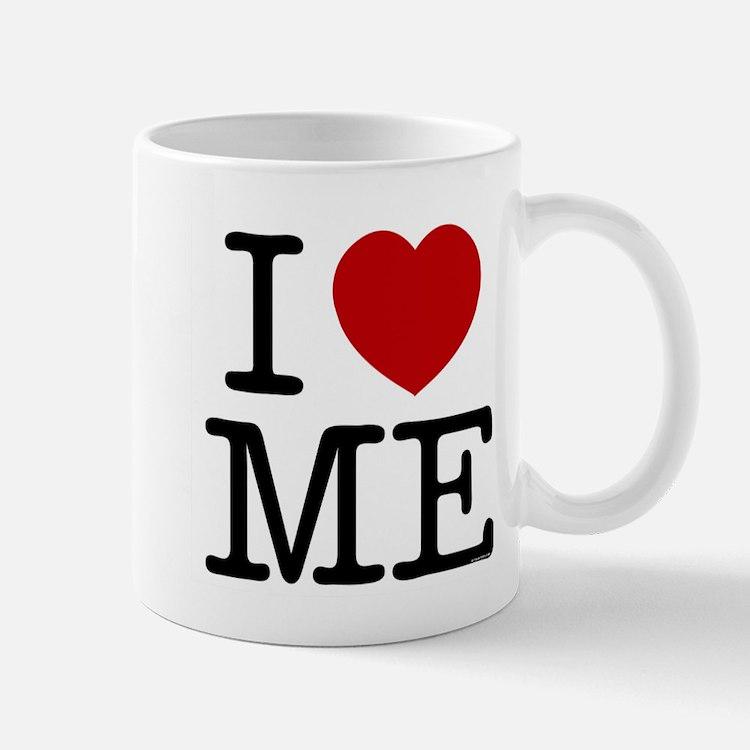 I LOVE ME --- RIFFRAFFTEES.COM Mug