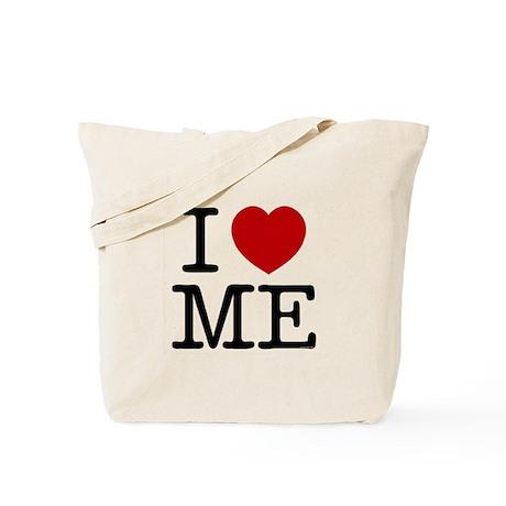 I LOVE ME --- RIFFRAFFTEES.COM Tote Bag